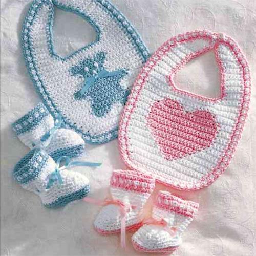 Sweetheart or Teddy Set - Free Pattern