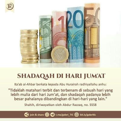 SHADAQAH DI HARI JUM'AT