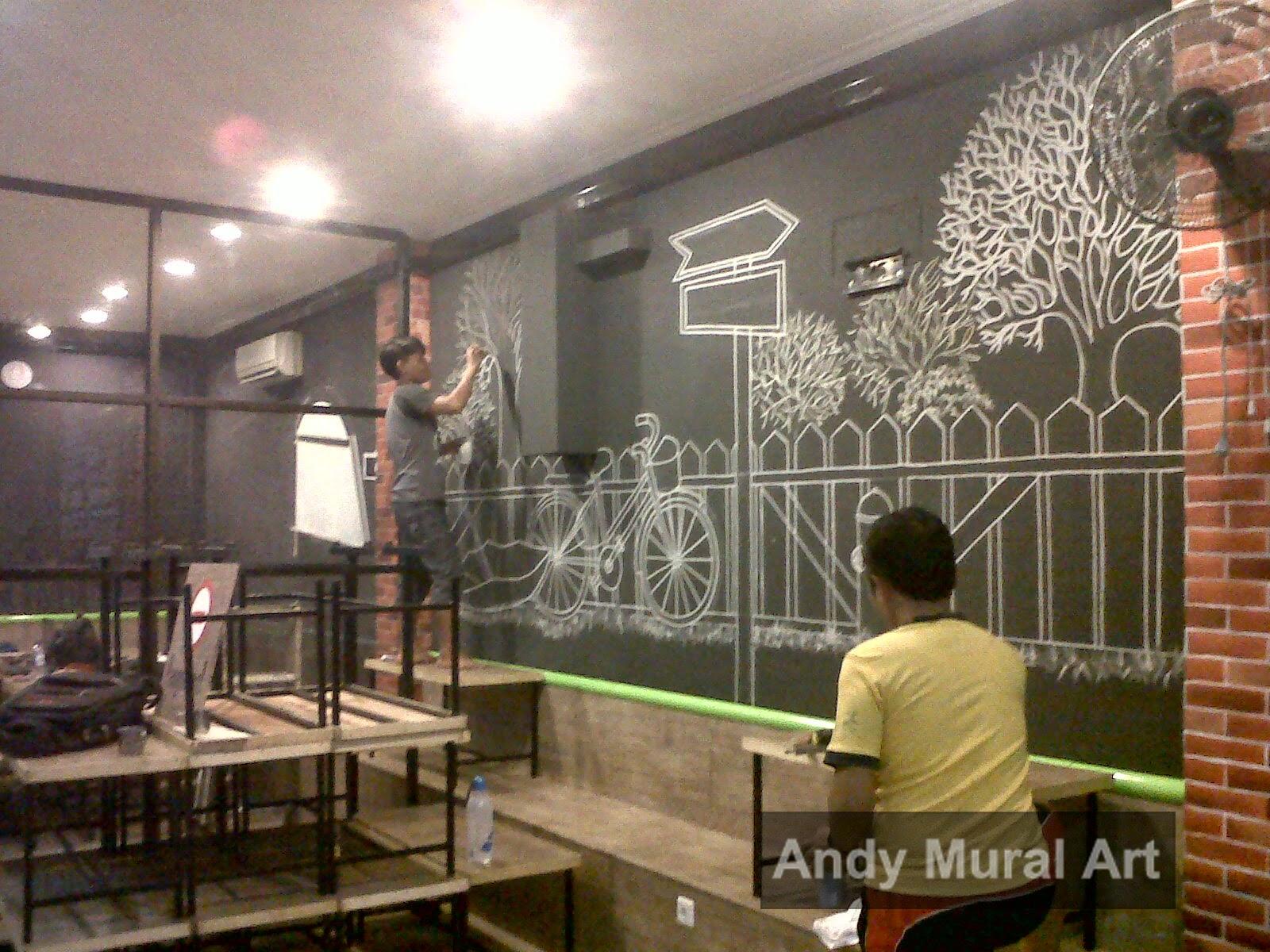 Lukisan Cafe Dan Restoran Masa Kini Jasa Lukis Dinding Jasa