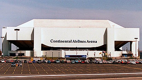 The Continental Airlines Arena, New Jersey