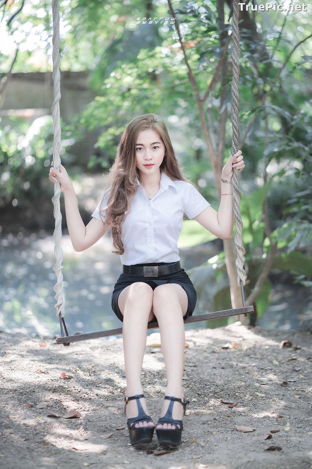 Image Thailand Model - นิภาภรณ์ เลิศนิติวัฒนา - Student Uniform - TruePic.net - Picture-1