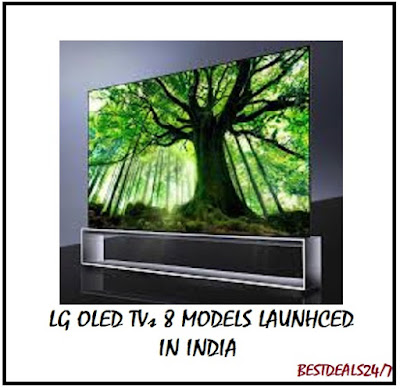 LG OLED TVs 8 Models launched in India