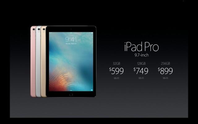 Ipad Pro 9,7 inci resmi rilis dengan layar True-Tone baru
