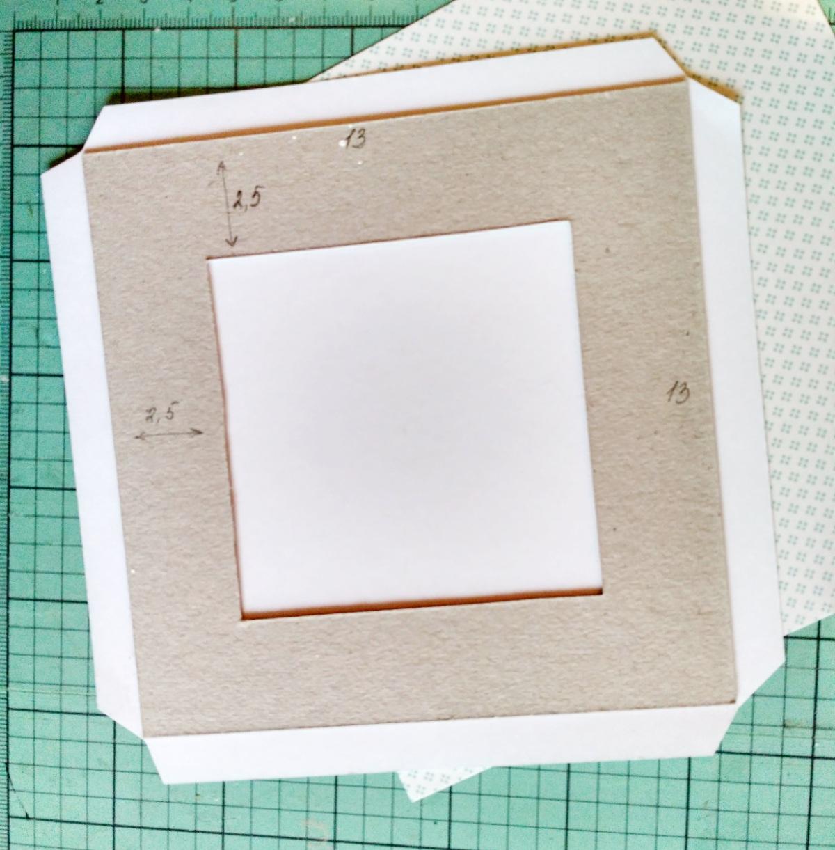 картонные рамки для фото с прищепками