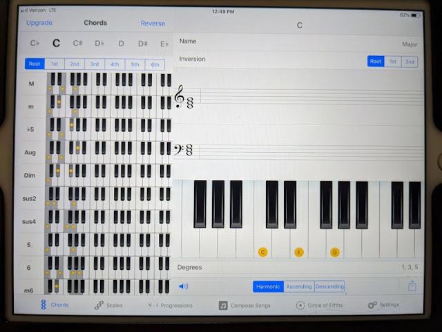 Kawai ES920 chord recognition