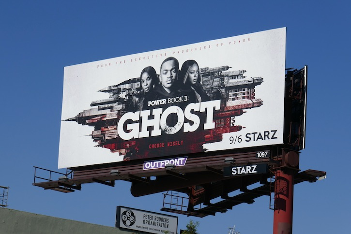 Power Ghost series launch billboard