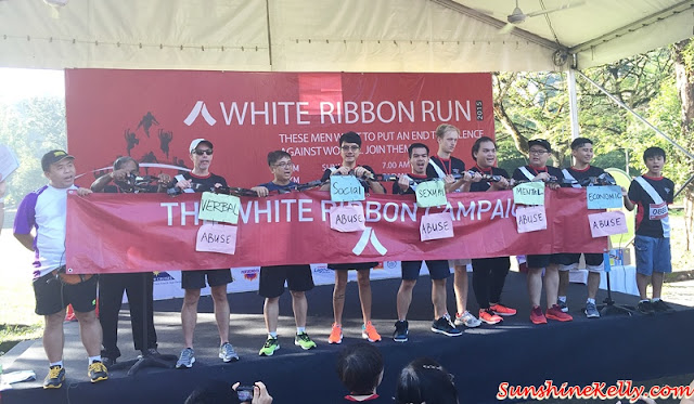 White Ribbon Run 2015 , Break the Silence, End the Voilence Against Women, Awam, All Women's Action Society, fitness, run, walk, women run, run for a cause