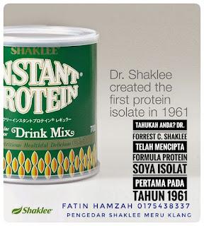 Protein-soya-pertama-shaklee