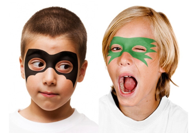Simple Face Painting Designs For Boys