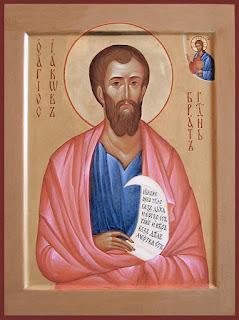 Святой апостол Иаков, брат Господень - икона