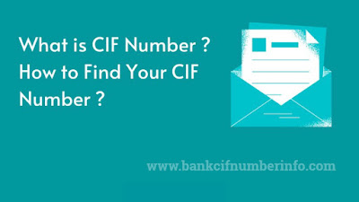 What is CIF Number?