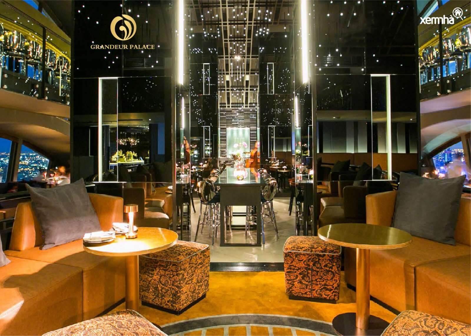 Sky Bar dự án Grandeur Palace