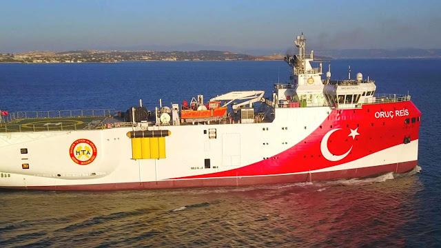 Έτοιμο να ξεκινήσει γεωτρήσεις ανατολικά της Κρήτης το «Oruc Reis»
