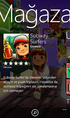 Subway Surfers Windows Phoneda