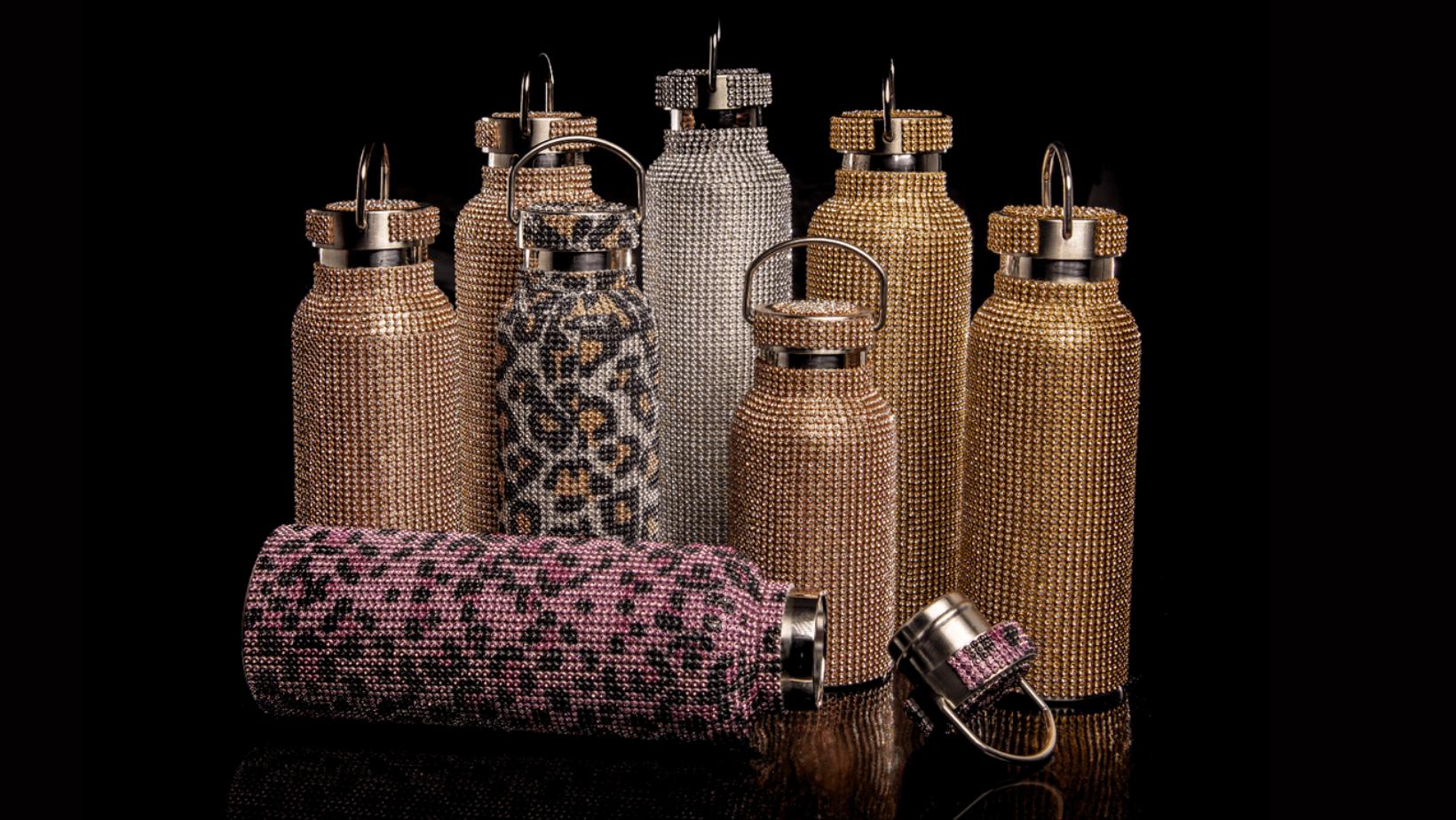 Sustainable luxury water bottles