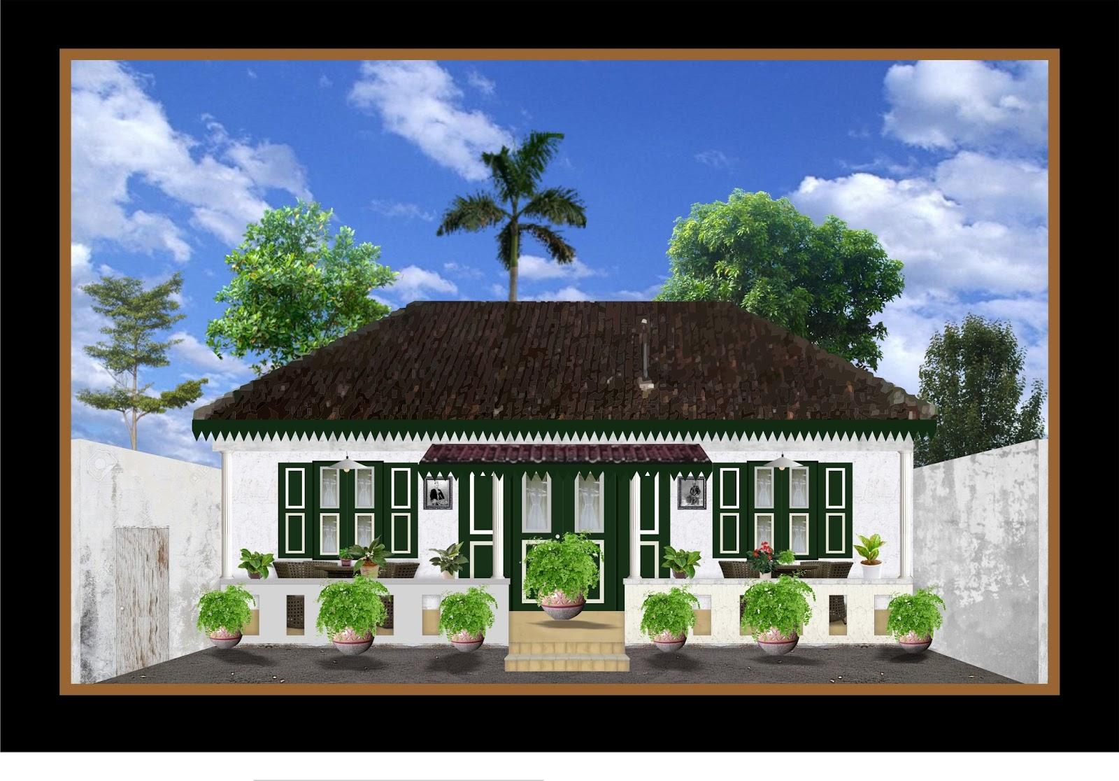 Gambar Ilustrasi Rumah | Iluszi