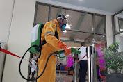 Penyemprotan Desinfektan di Fasilitas Umum Terus Dilakukan