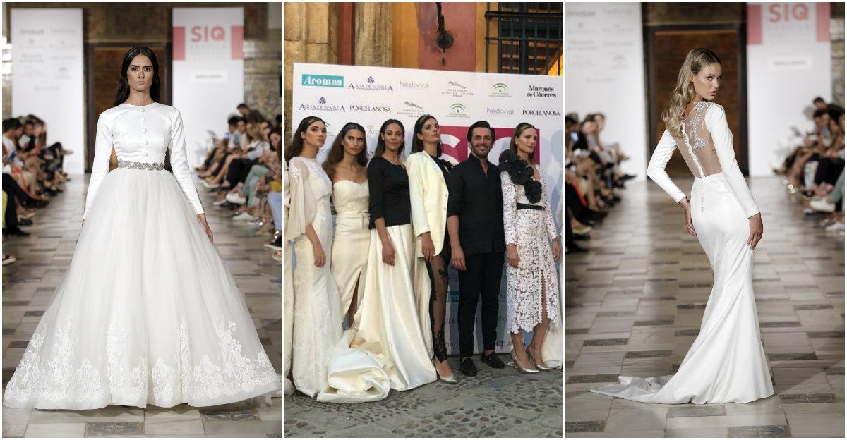 c532ba7d8 SIQ 2018  Los diseñadores de vestidos de novia de Sevilla que debes ...