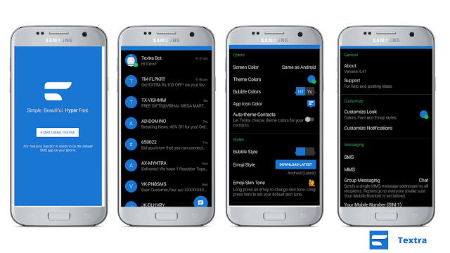 best messaging app for android User's(with downloading links)