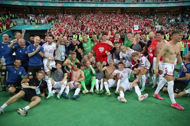 Τσεχία-Δανία 1-2: Οι Σκανδιναβοί συνεχίζουν να ζουν στο δικό τους παραμύθι