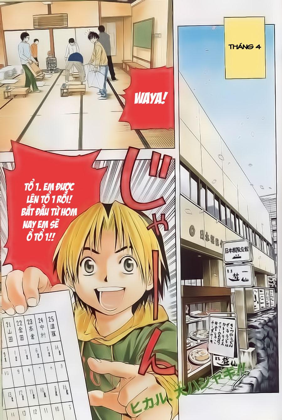 Hikaru No Go hikaru no go chap 55 trang 3