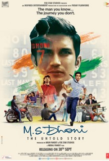 M.S. Dhoni: The Untold Story (2016) Hindi Movie DVDScr 350MB