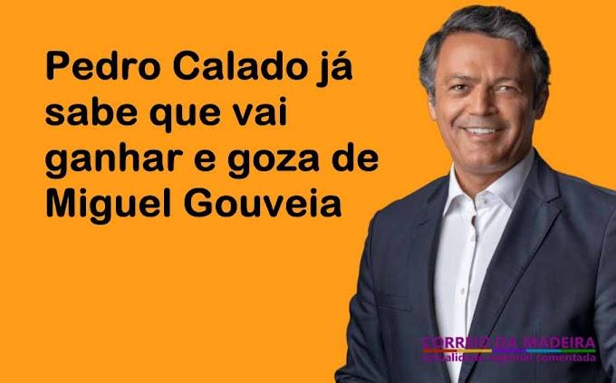Pedro Calado goza com Miguel Gouveia