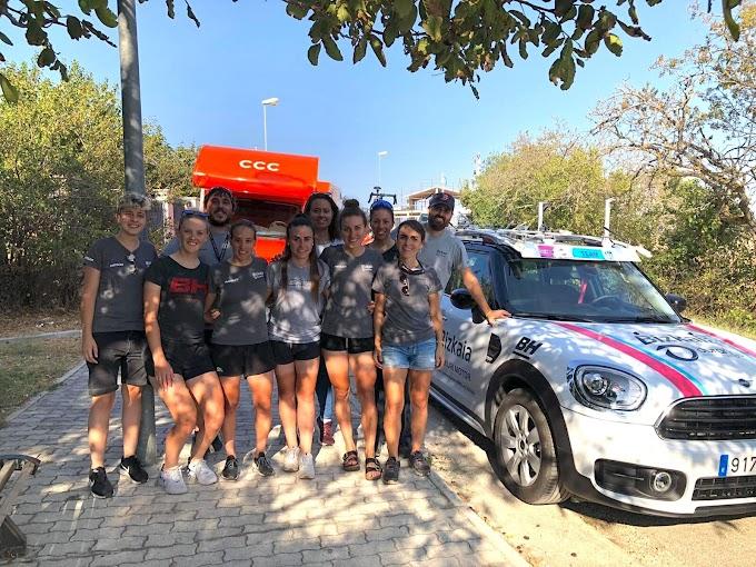 El equipo Bizkaia - Durango hace balance del Giro Rosa