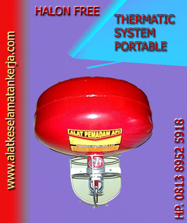 Halon Free Thermatic Portable System Fire Extinguisher