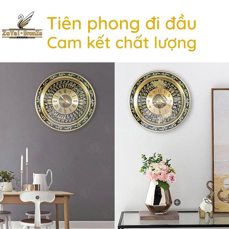 [A117] 20 mẫu mặt trống đồng treo tường trang trí phòng khách đẹp