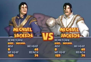 Michael jackson video games