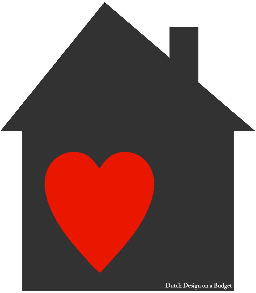 huisje hart