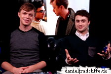 MSN: Daniel Radcliffe and Dane DeHaan answer Skype questions
