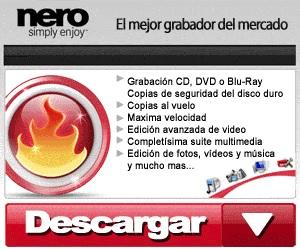 Aplicaciones gratis Nero Burning Rom