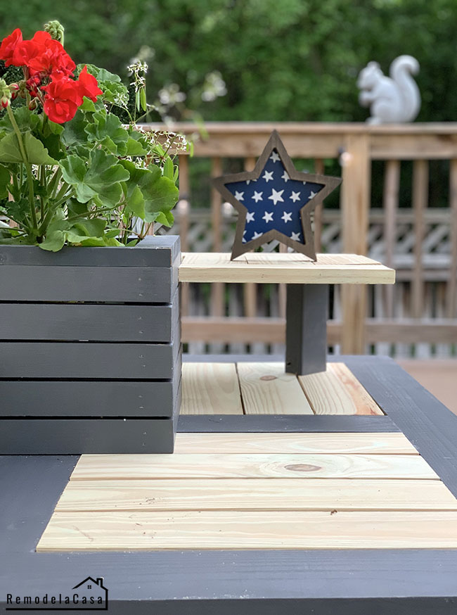 coffee table for outdoor use - free plans - #dewalt