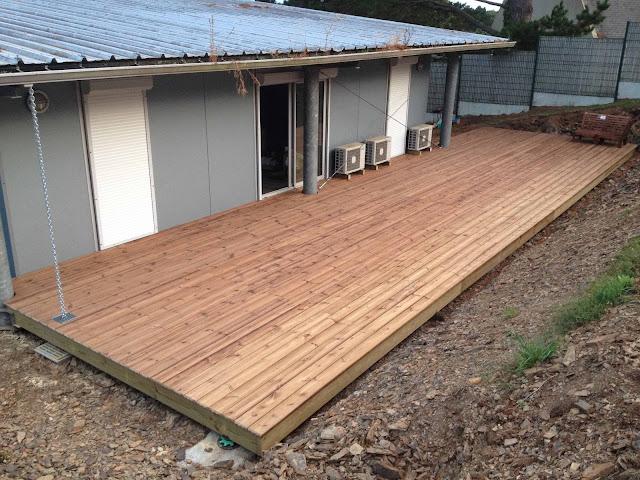 Terrasse pin classe IV Coat Maen