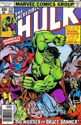 Incredible Hulk #227, the original Avengers