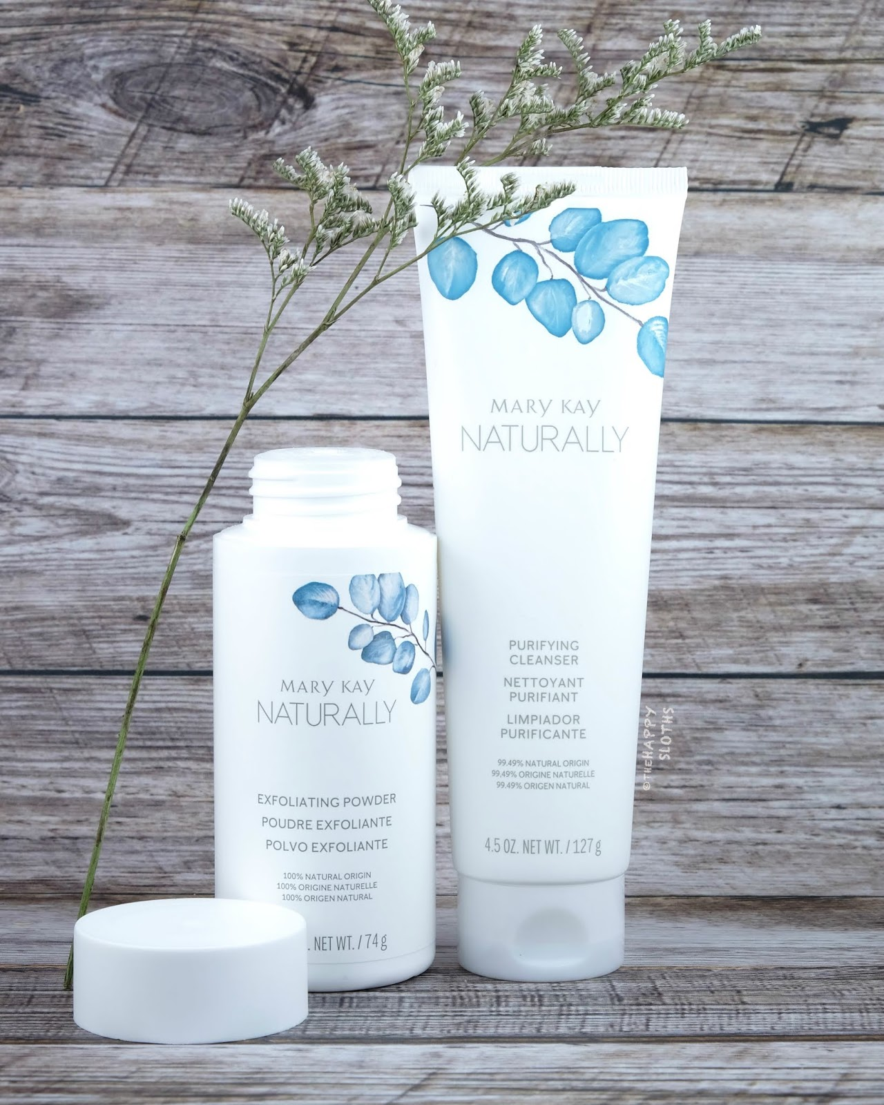 Mary Kay | Naturally Purifying Cleanser & Naturally Exfoliating Powder: Review