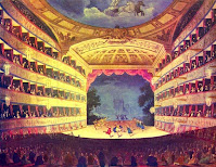 The Opera House from The Microcosm of London (1808-10)