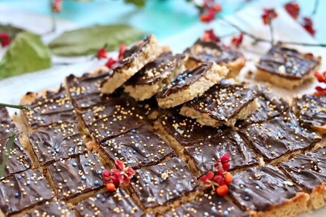 florentynki - słodkie ciasteczka z migdałami