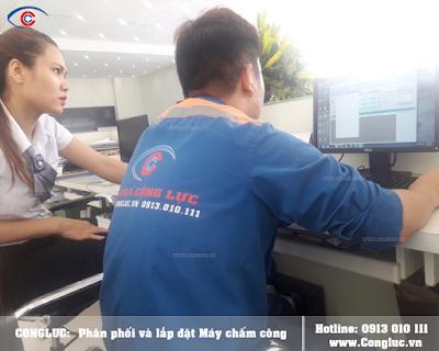 lắp máy chấm công chuyên nghiệp tại Hải Phòng