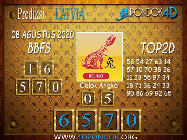 Prediksi Togel LATVIA POOLS PONDOK4D 08 AGUSTUS 2020