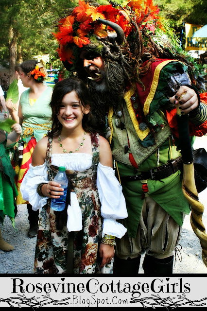 Tennessee Renaissance Festival - anna and the troll