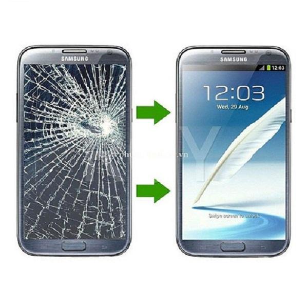 dịch vụ thay mặt kính Samsung galaxy Note 2
