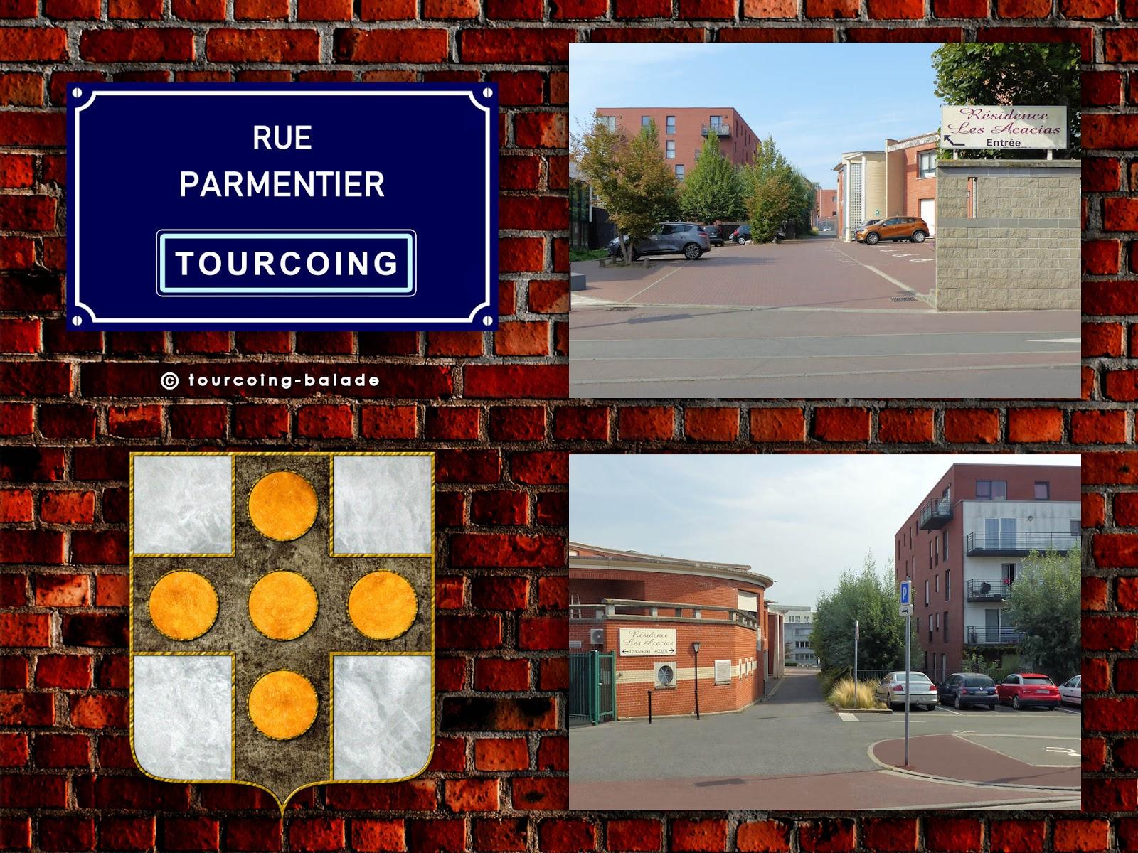 Rues de Tourcoing - Rue Parmentier.