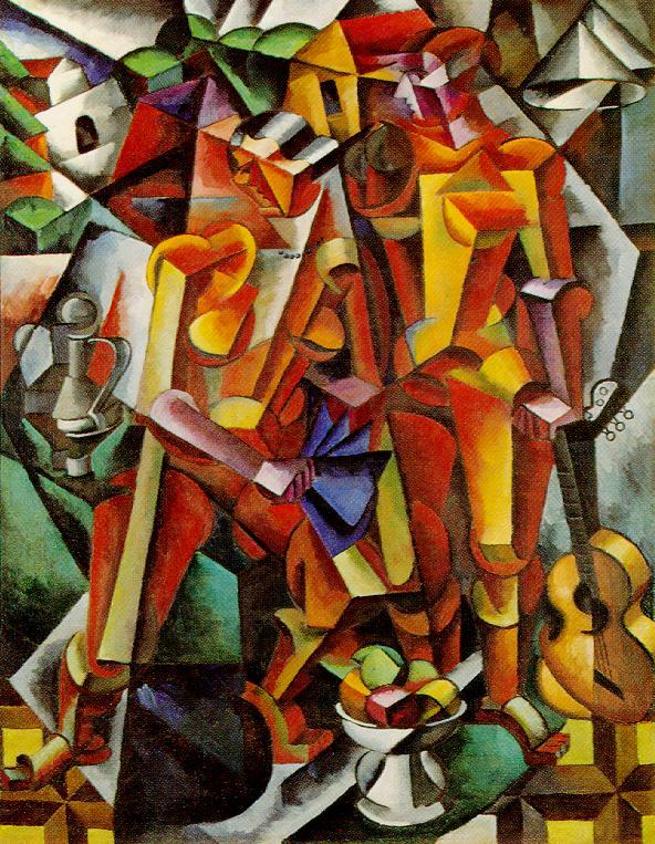 Shurfa's Blog: Pablo Picasso, Cubism