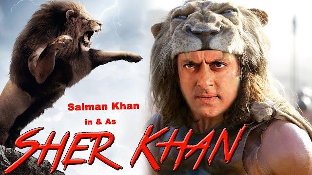 सलमान और शेर खान