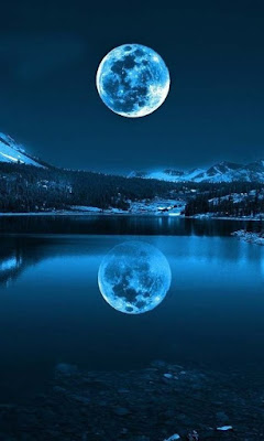 powers blue moon full moon