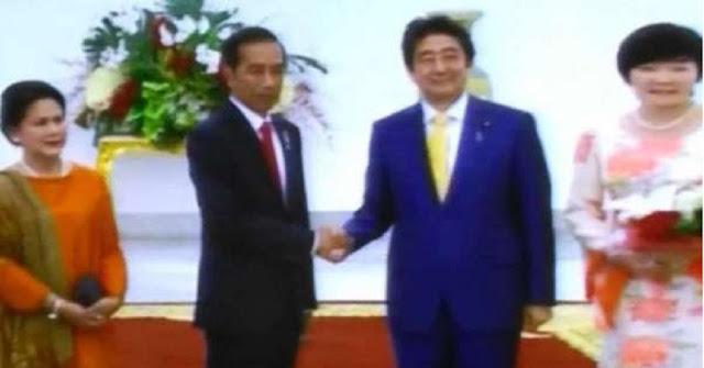 Pertemuan Semenit Jokowi-Abe Layak Dicatat Guinness Book Of Record