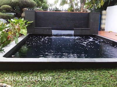 desain kolam minimalis | kolam ko'i